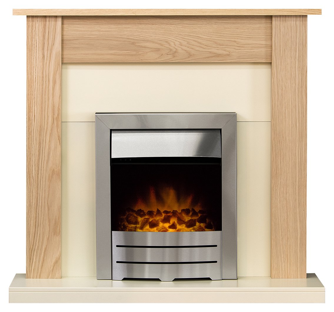 sale on adam southwold 2kw electric fireplace suite. Black Bedroom Furniture Sets. Home Design Ideas