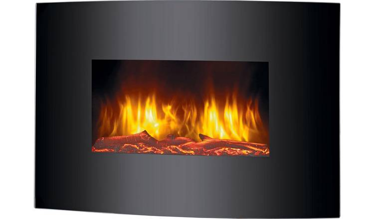 Beldray Palma 2kW Curved Electric Wall Hung Fire