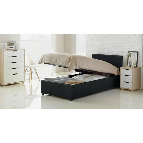 Sensational Buy Argos Home Lavendon Single Ottoman Bed Frame Black Bed Frames Argos Ibusinesslaw Wood Chair Design Ideas Ibusinesslaworg