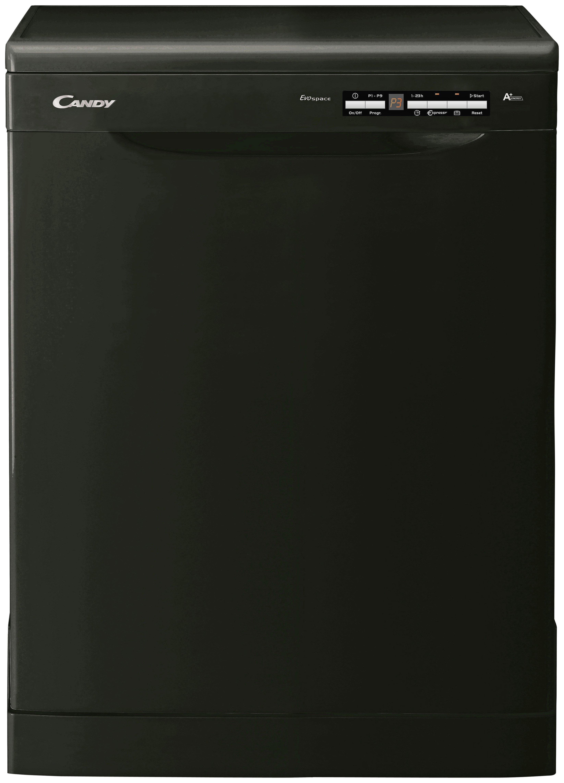 Candy - CDPE6350B - Full Size Dishwasher - Black