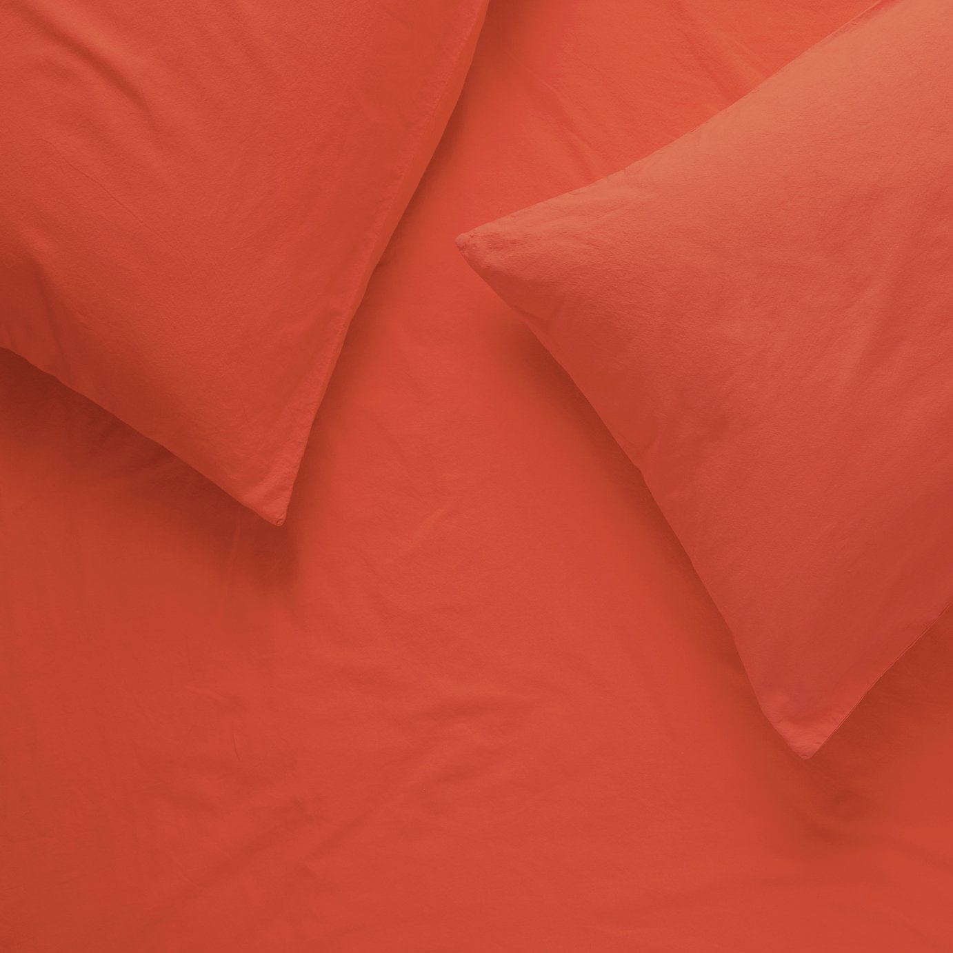 Habitat Washed Coral Bedding Set - Double