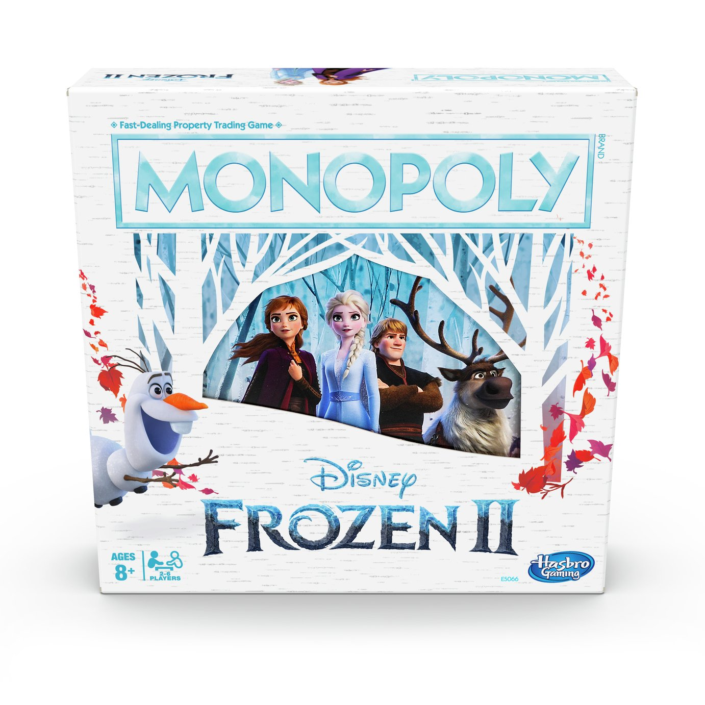 Monopoly Disney Frozen 2 Edition Board Game by Hasbro Gaming