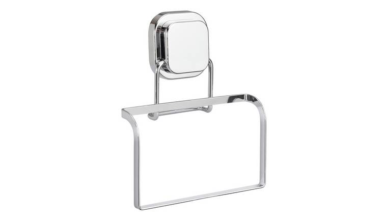 Argos Home Flat Plate Suction Towel Ring