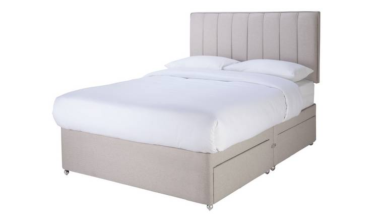 Sleepeezee Gel 1000 4 Drawer Double Divan Set