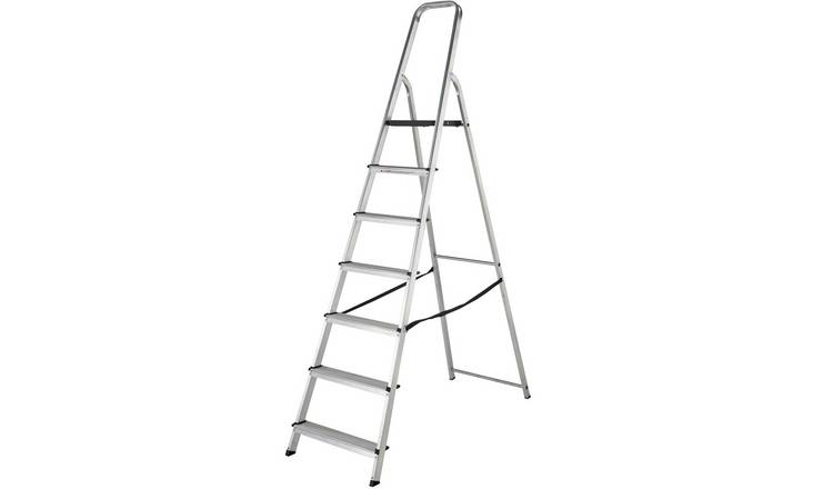 Abru Werner High Handrail Step Ladder