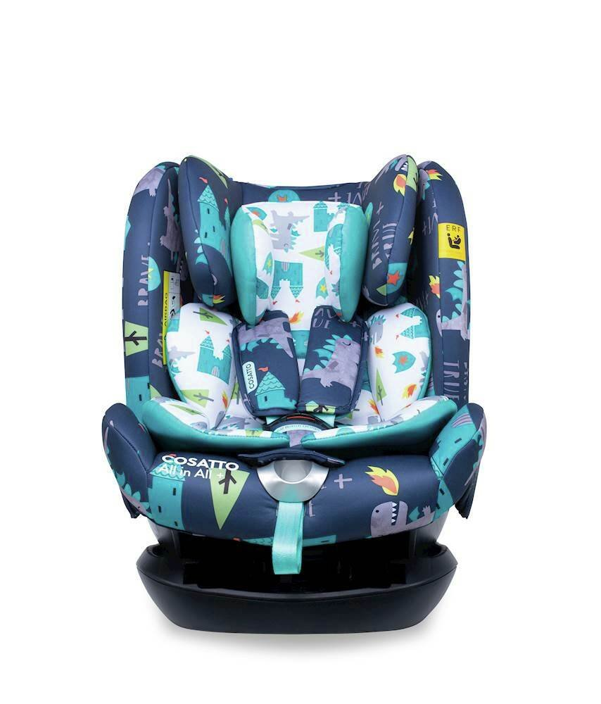 Cosatto All in All Group 1/2/3 Car Seat - Dragon Kingdom