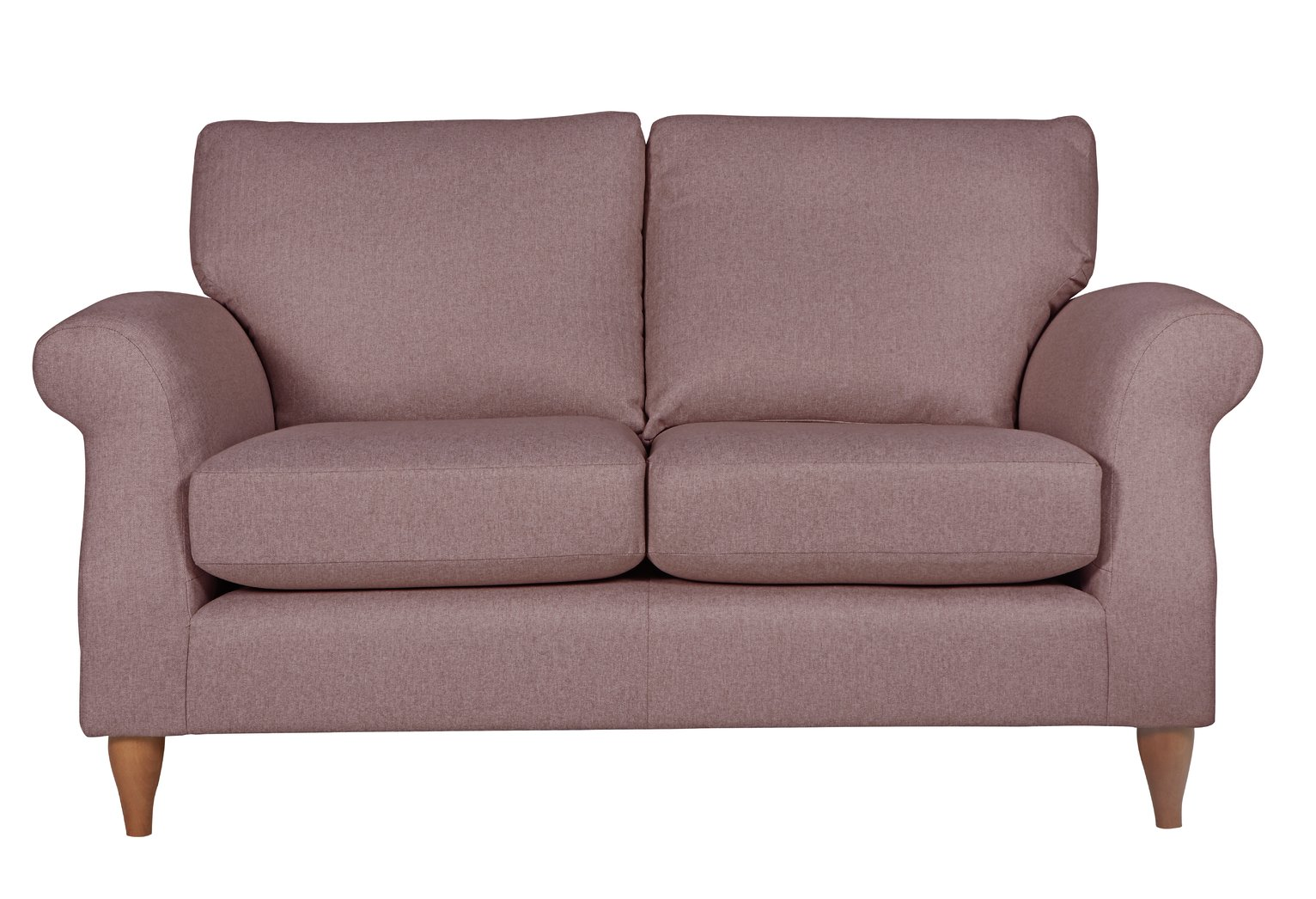 Argos Home Bude 2 Seater Fabric Sofa - Pink