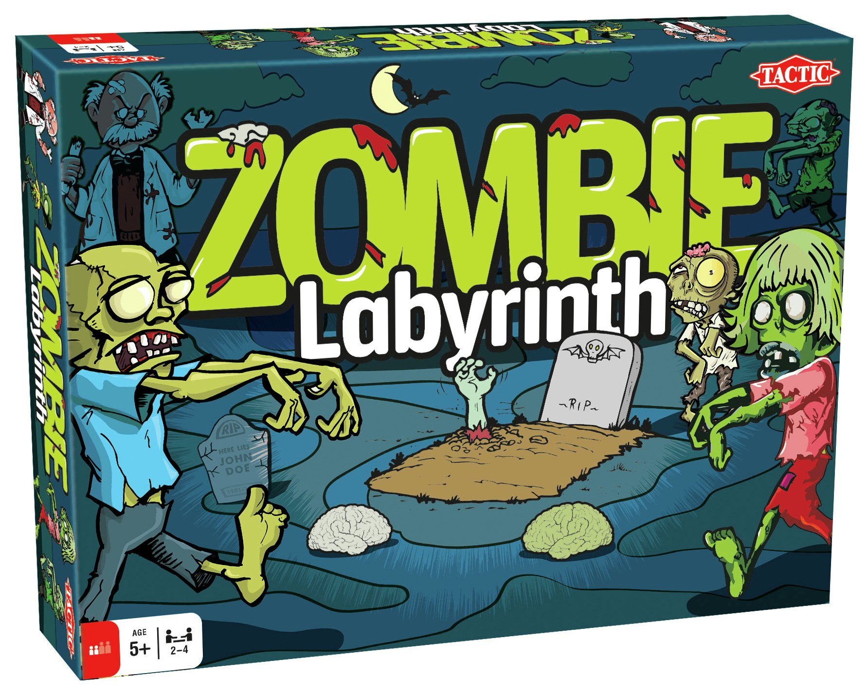 Tactic Games - - Zombie Labyrinth.