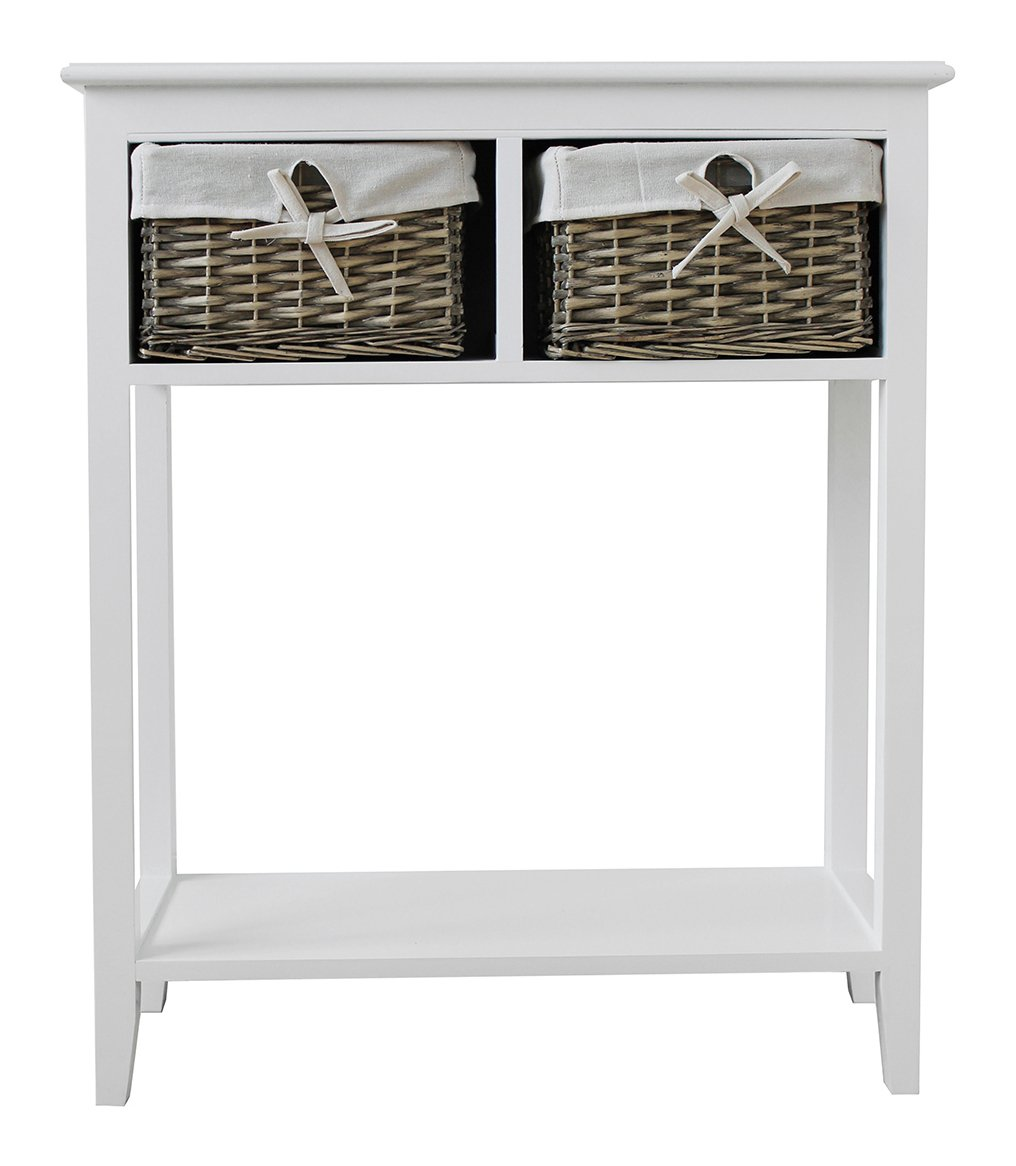 Collection New Malvern Console Table - White