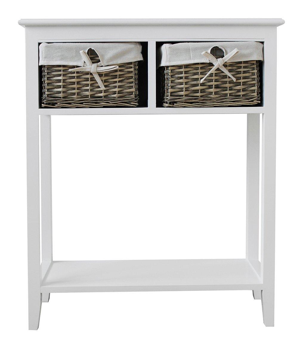 Argos Home New Malvern Console Table - White