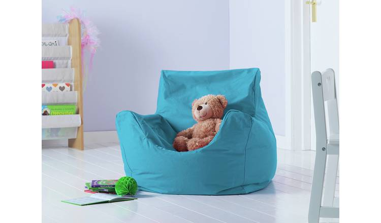 Argos Home Kids Funzee Blue Bean Bag Chair