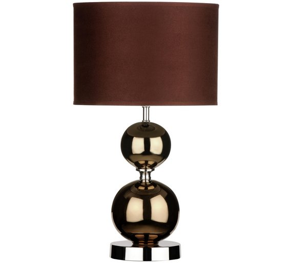 Buy table lamp with ceramic balls copper at argos your click to zoom mozeypictures Images