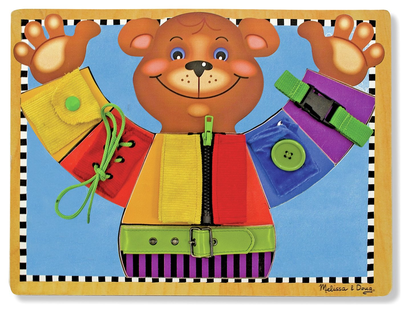 Image of Melissa and Doug Basic Skills Board.