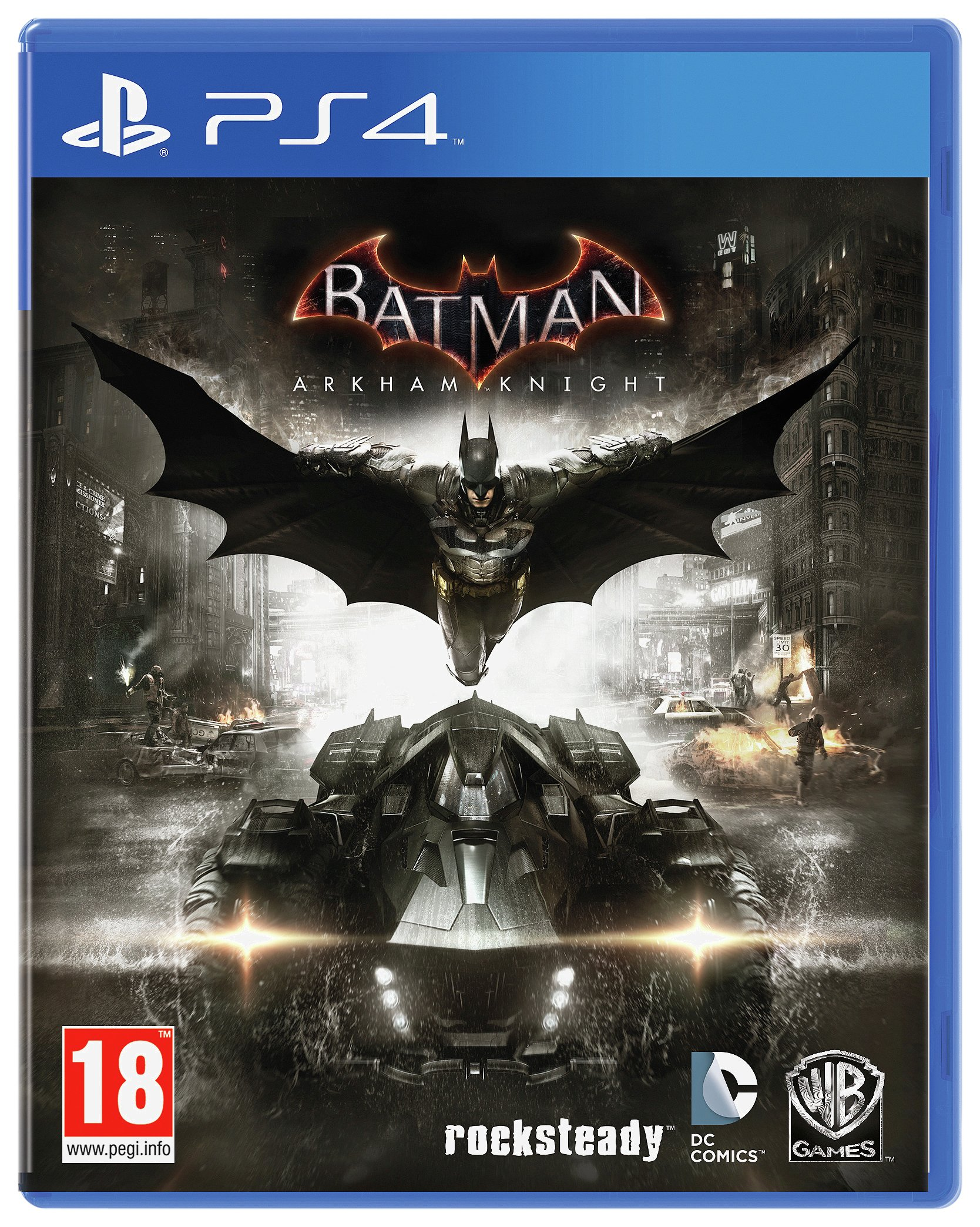 Image of Batman- Arkham Knight - PS4 Game