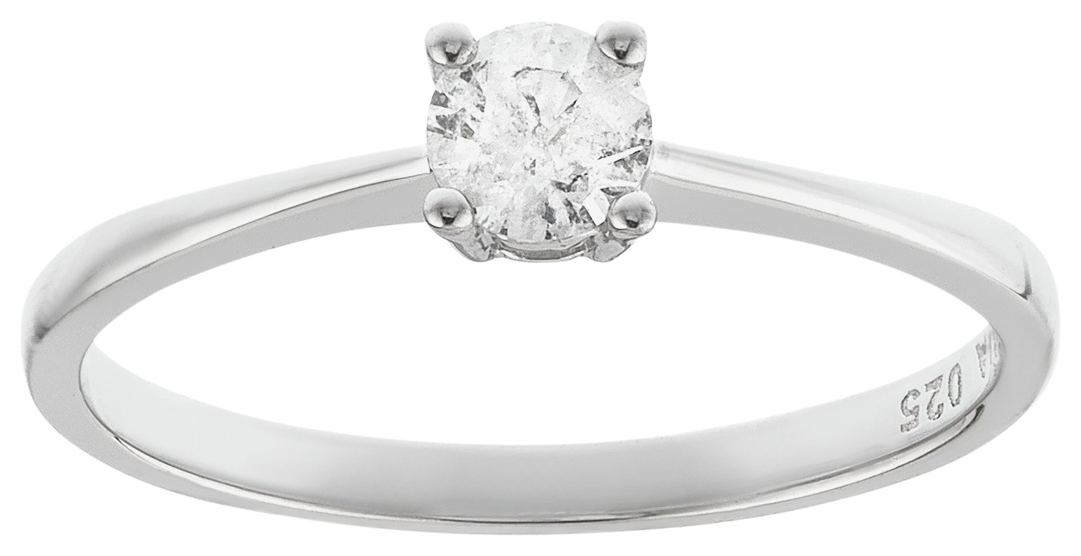 sterling-silver-025-carat-diamond-solitaire-ring