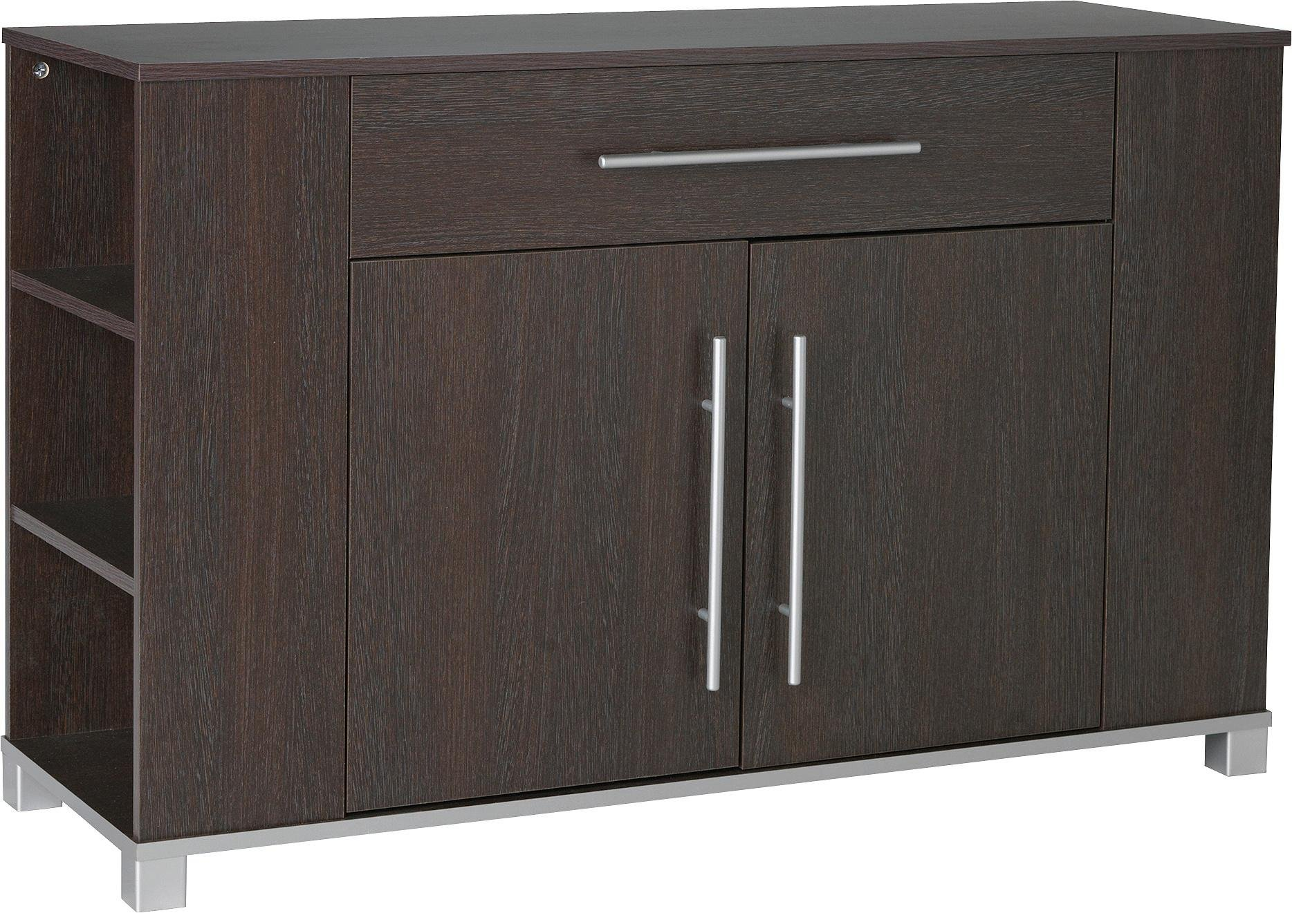 Sale on home hygena minsk 2 door 1 drawer sideboard wenge effect home by argos now available o - Sideboard wenge ...