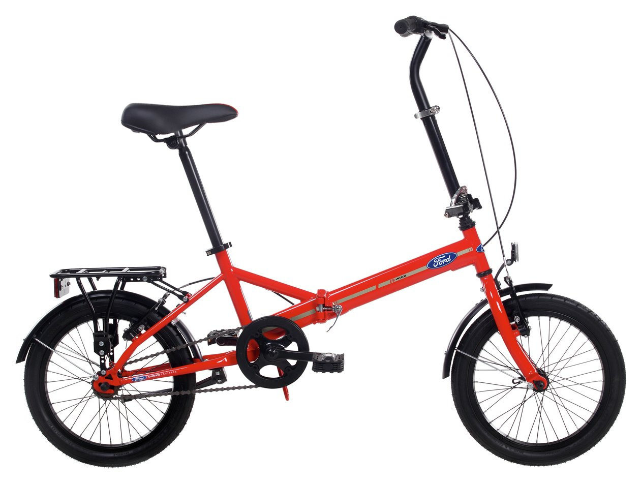 Image of Ford B Max 16 inch Folding Bike - Unisex.