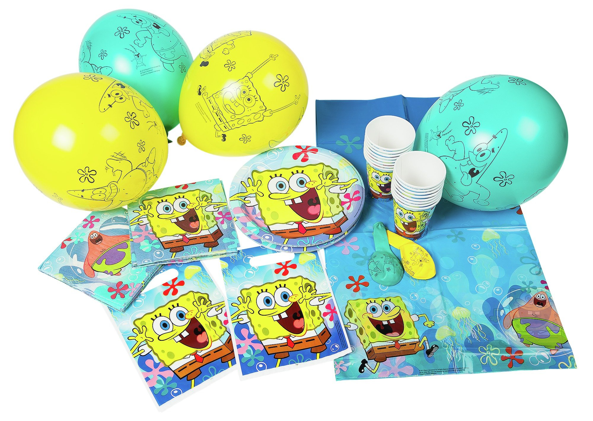 spongebob-square-pants-party-pack-for-16-guests