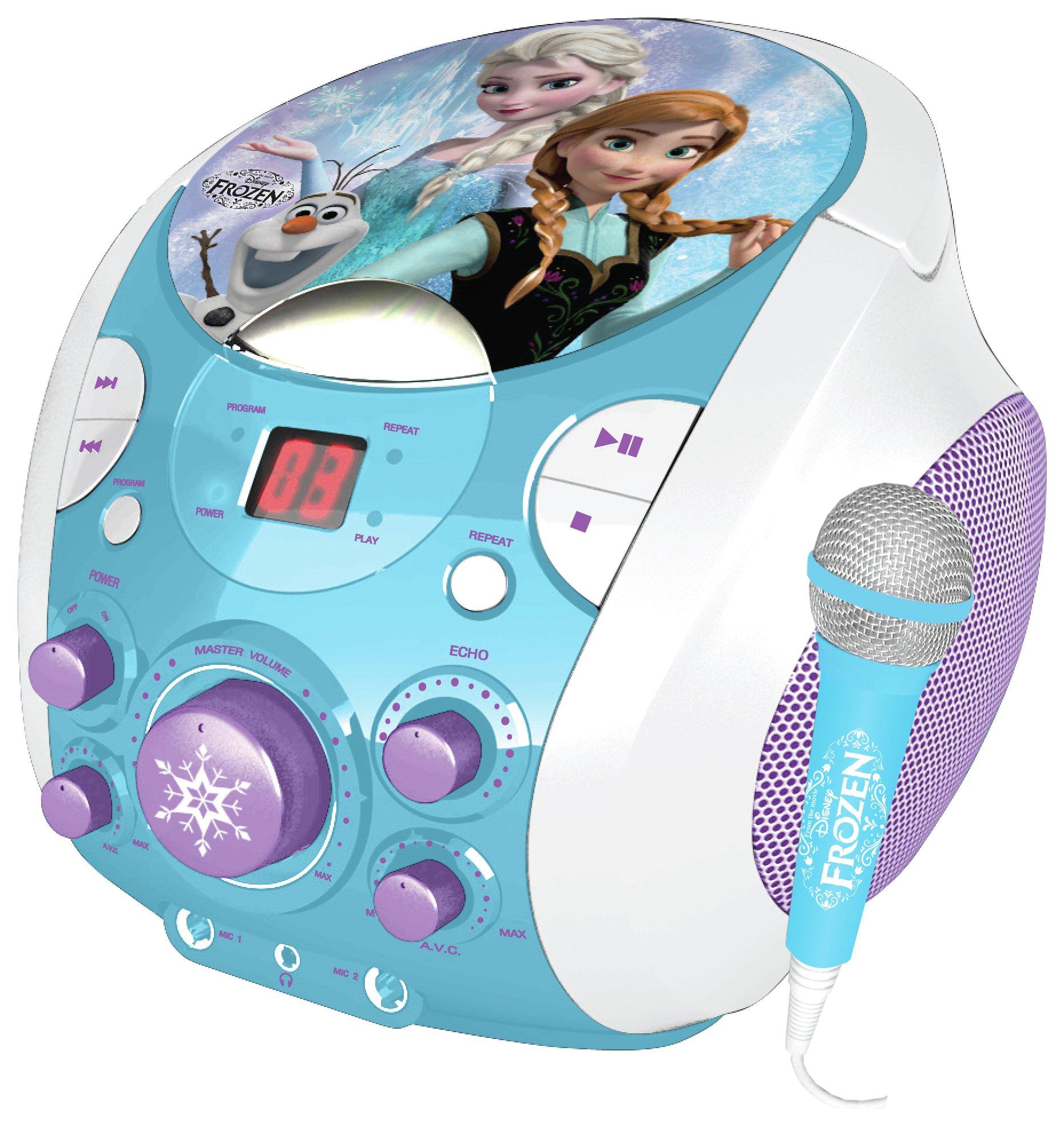 frozen-portable-karaoke-machine-blue