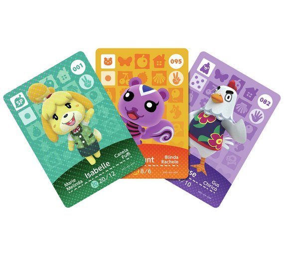 Buy Animal Crossing Happy Home Designer NFC Cards Wave 1 at Argos ...