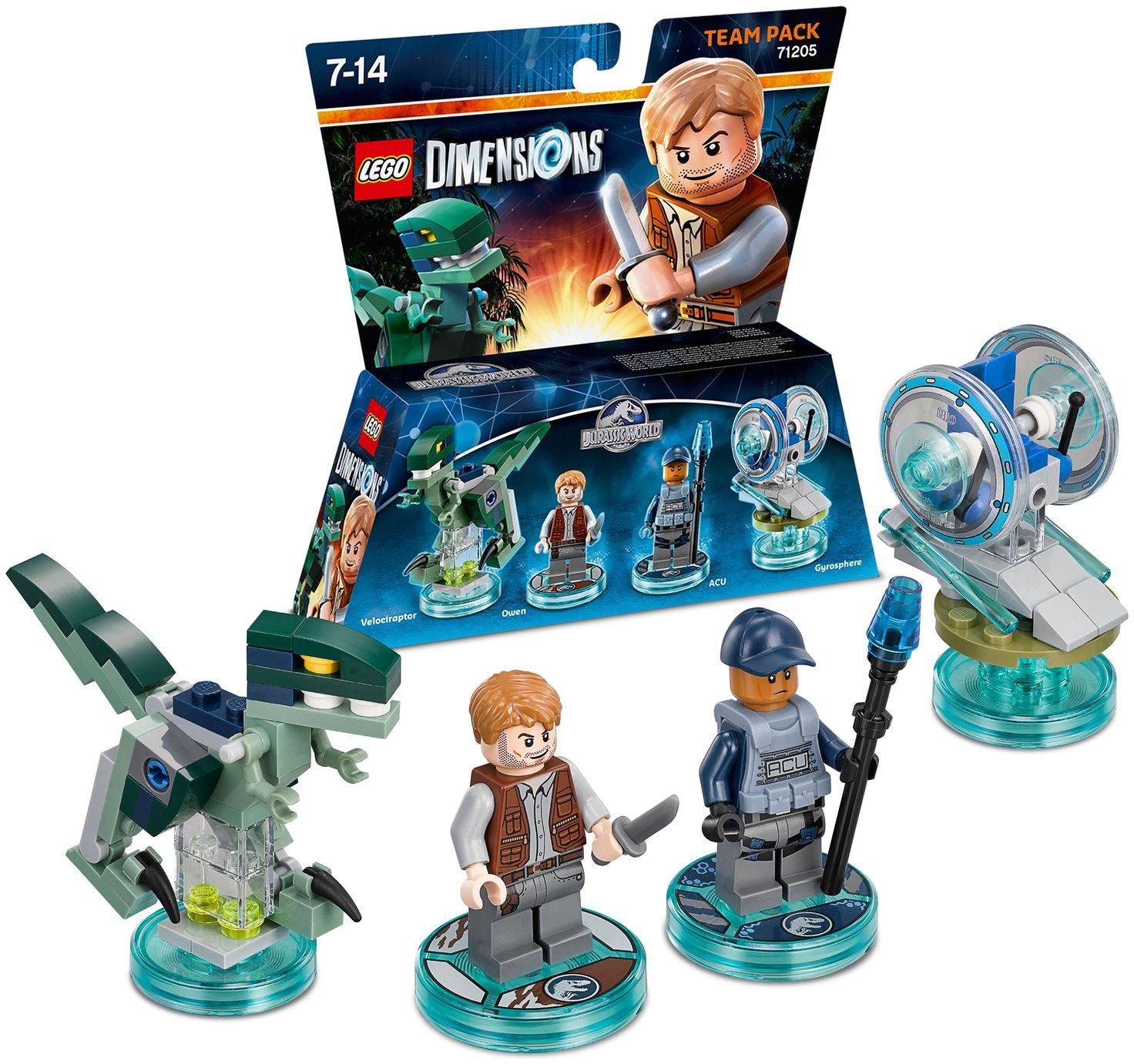 Buy LEGO Dimensions Jurassic World Team Pack   Lego Dimensions   Argos