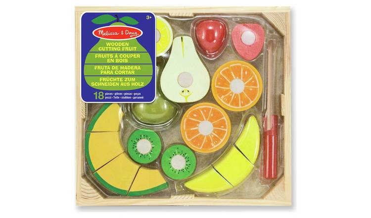 Melissa & Doug Wooden Cutting Fruit Set