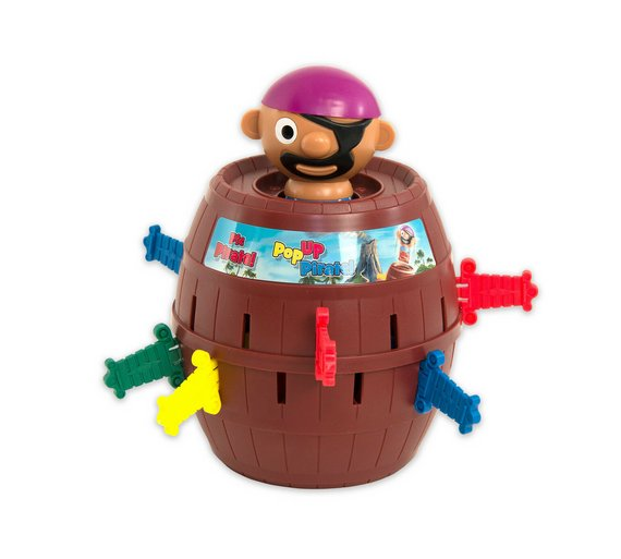 Buy Pop Up Pirate Game Board Games Argos
