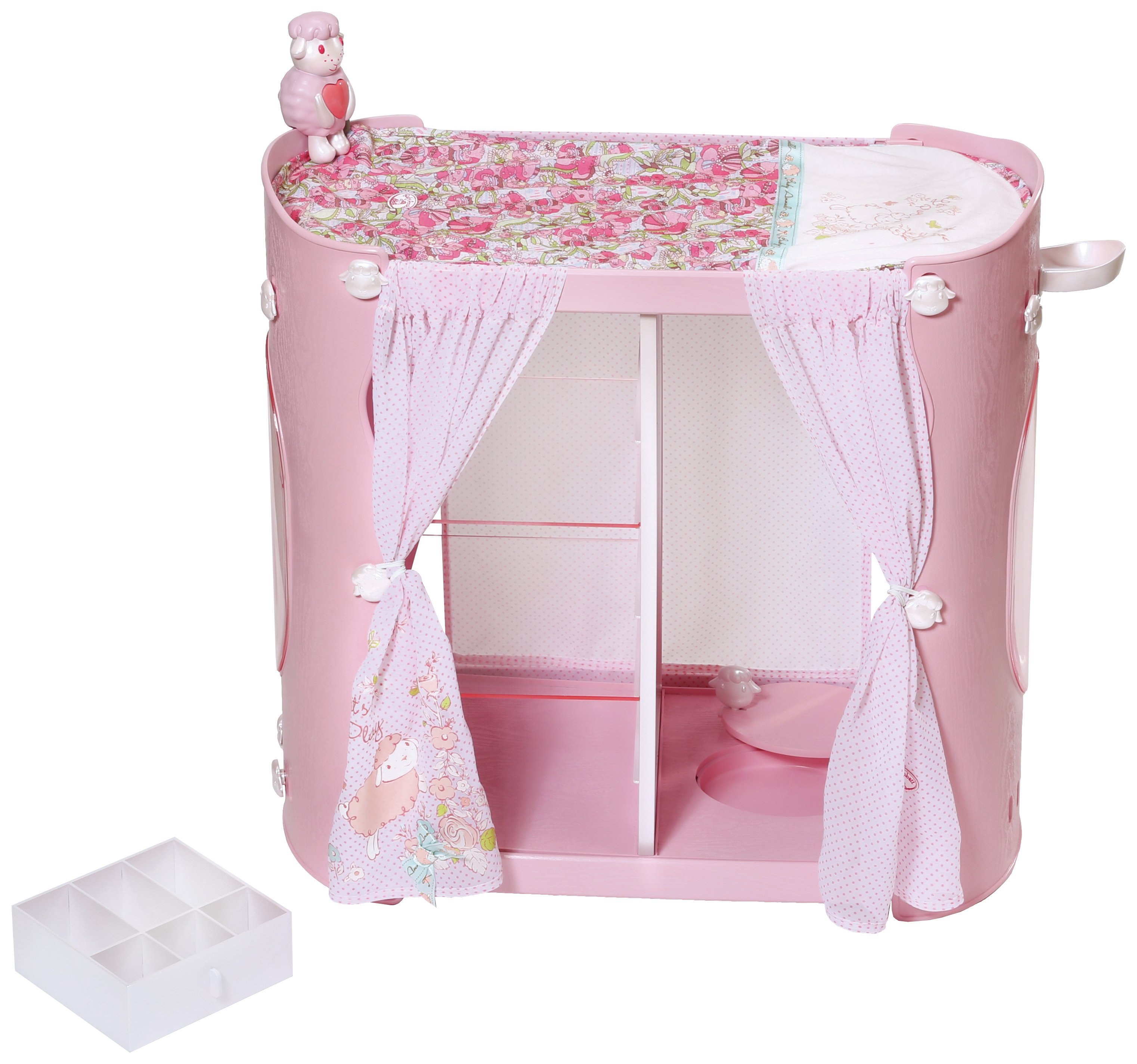 Image of Baby Annabell 2-in-1 Baby Unit Wardrobe/Changing Table