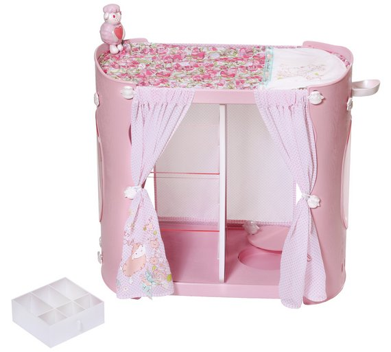 Buy Baby Annabell In Baby Unit WardrobeChanging Table At - Anna bell baby wardrobe