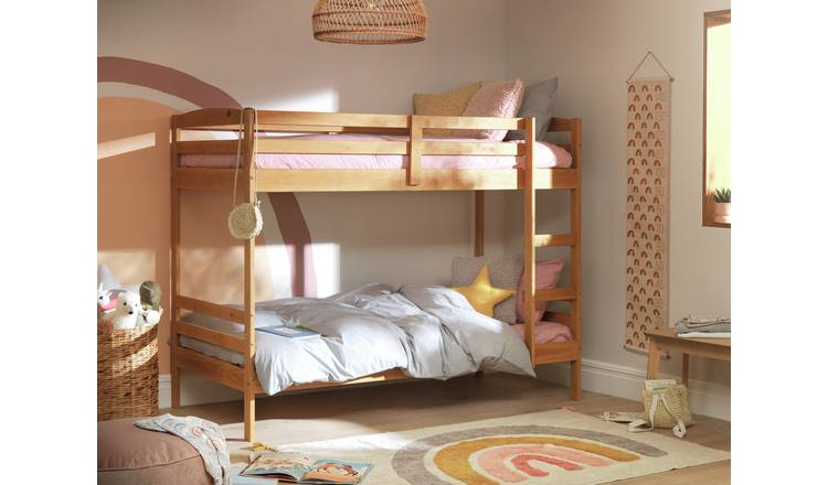 Argos Home Josie Single Bunk Bed Frame - Pine