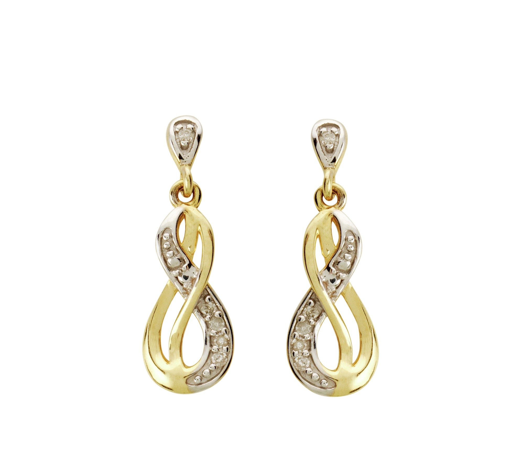9-carat-gold-010-carat-tw-diamond-infinity-drop-earrings