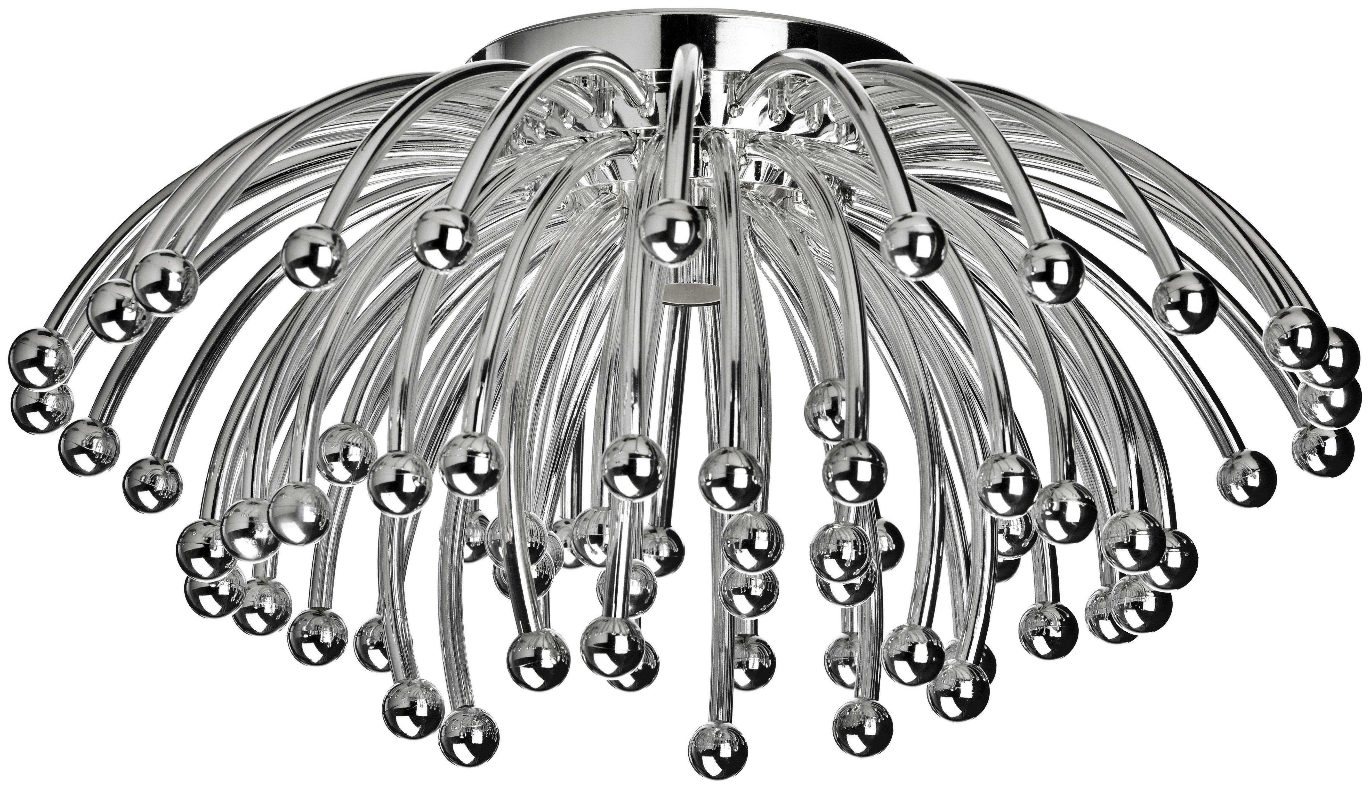 chrome-effect-ceiling-light