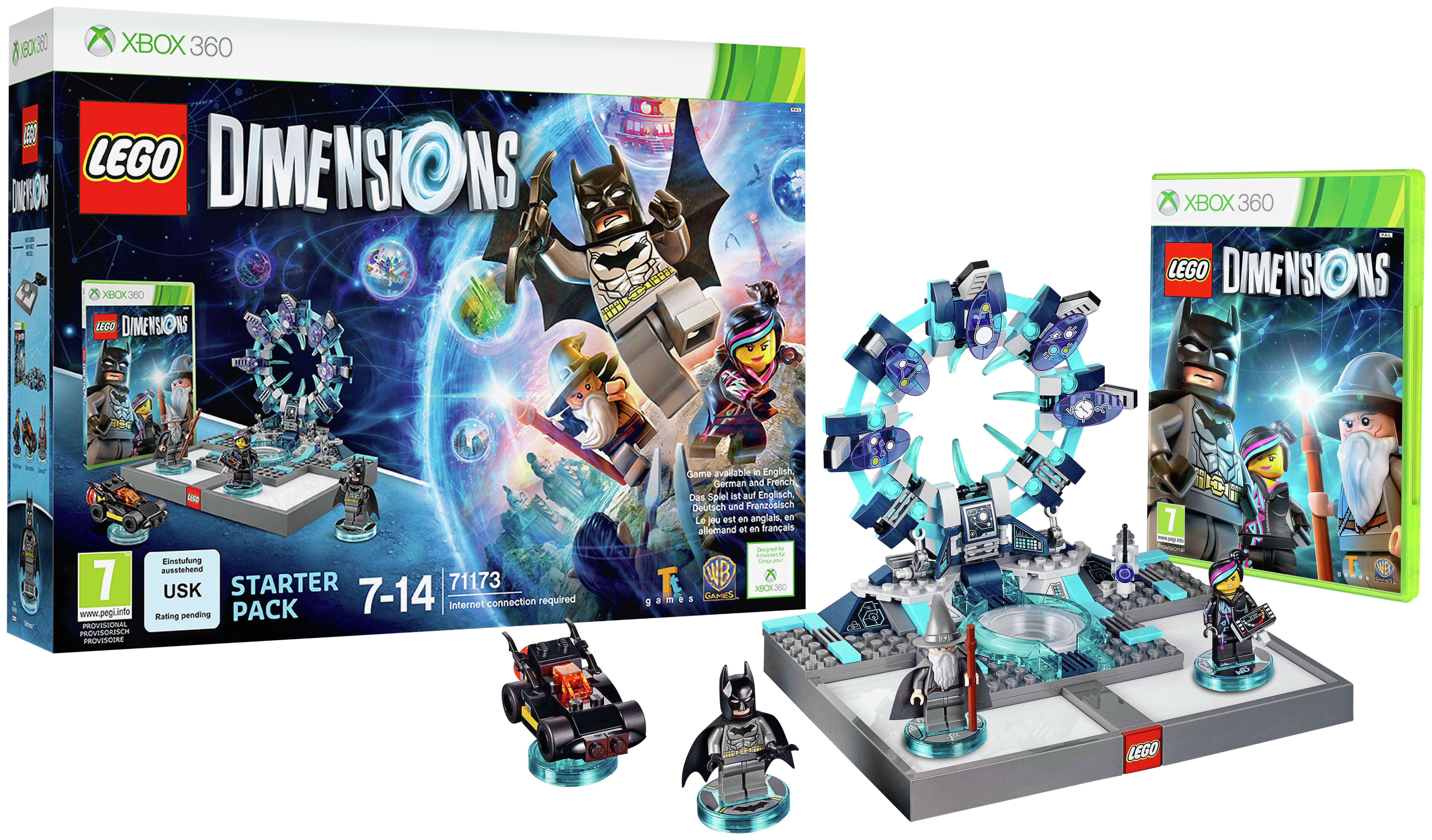 Buy LEGO Dimensions Starter Pack - Xbox 360   Lego Dimensions   Argos