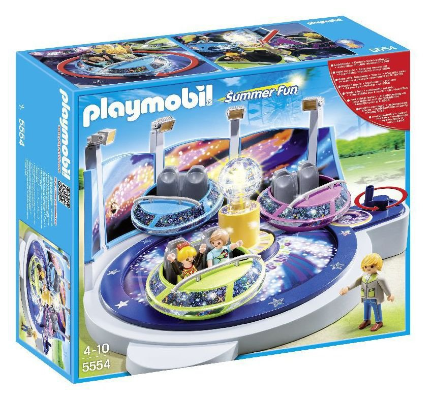 Playmobil   5554 Spinning Spaceship Ride With Lights.