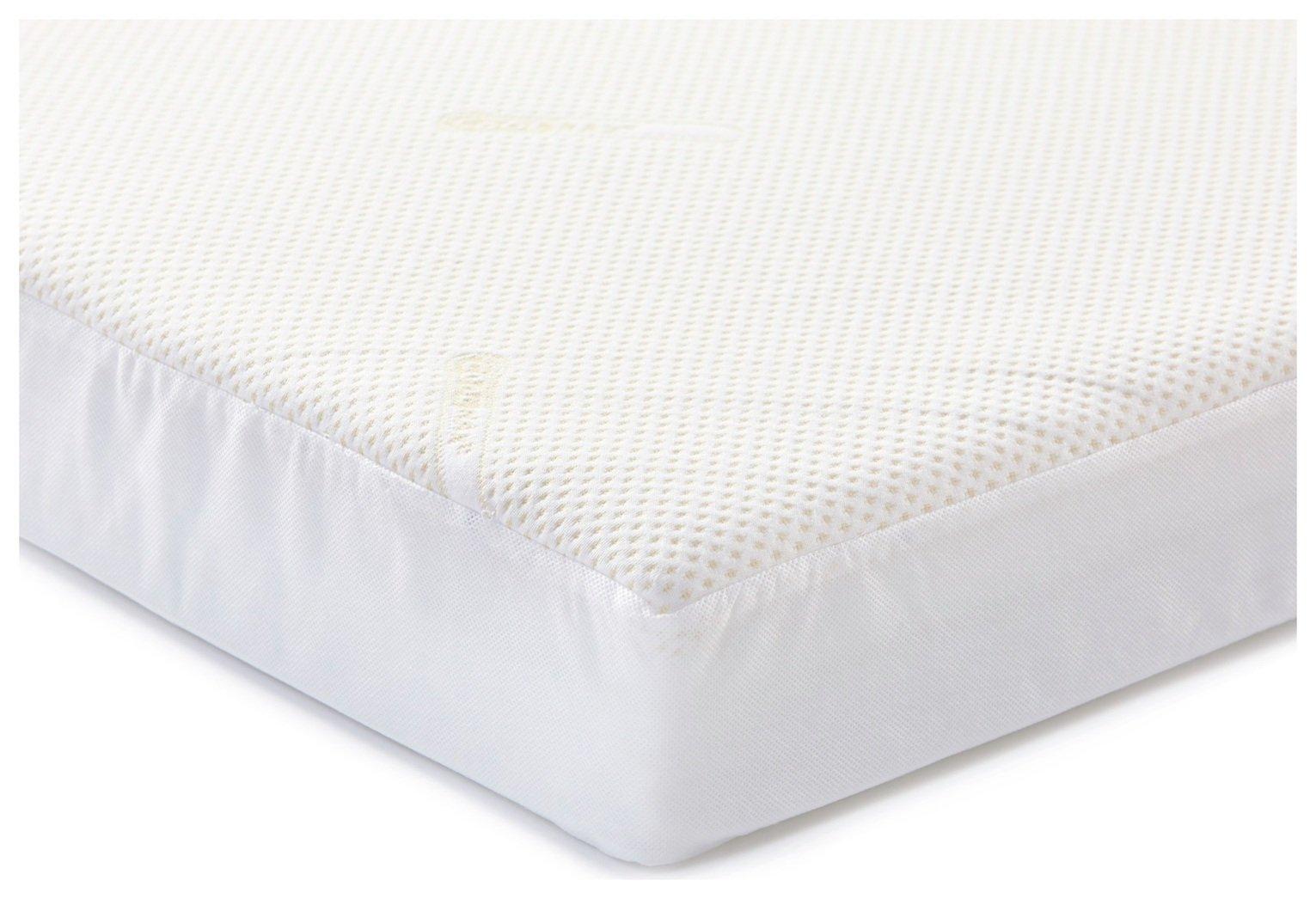 Image of Baby Elegance Coolmax Pocket Sprung Cot Bed Mattress.