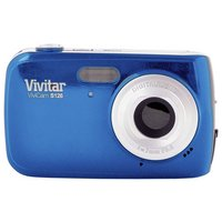 Vivitar - S126 16MP 4x Zoom Compact - Digital Camera - Blue