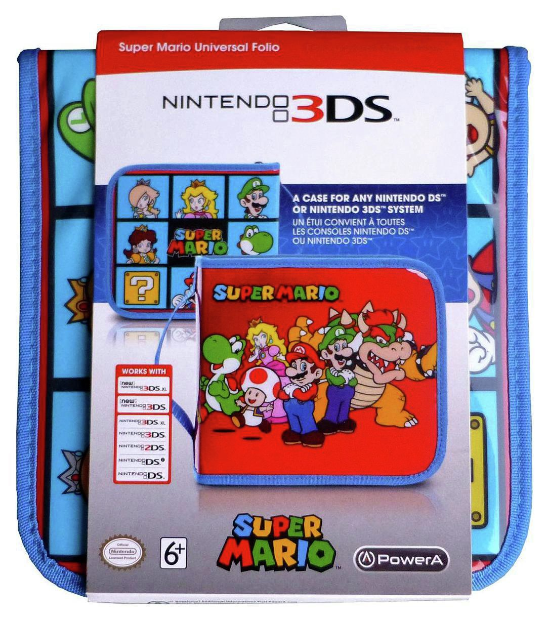 Universal Super Mario 2DS/3DS XL Folio Case