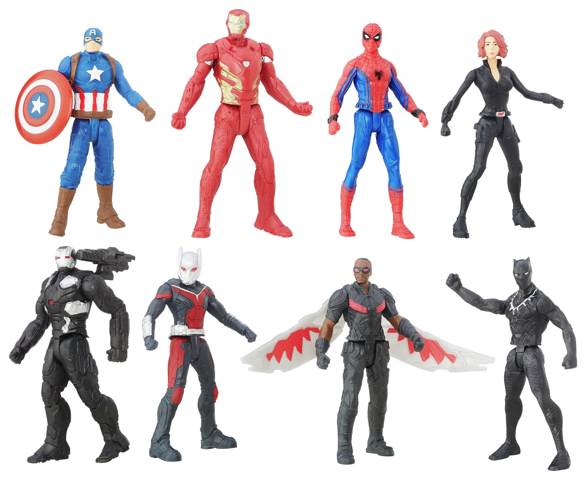 Image of Avengers - 8 Figure Collection Pack.