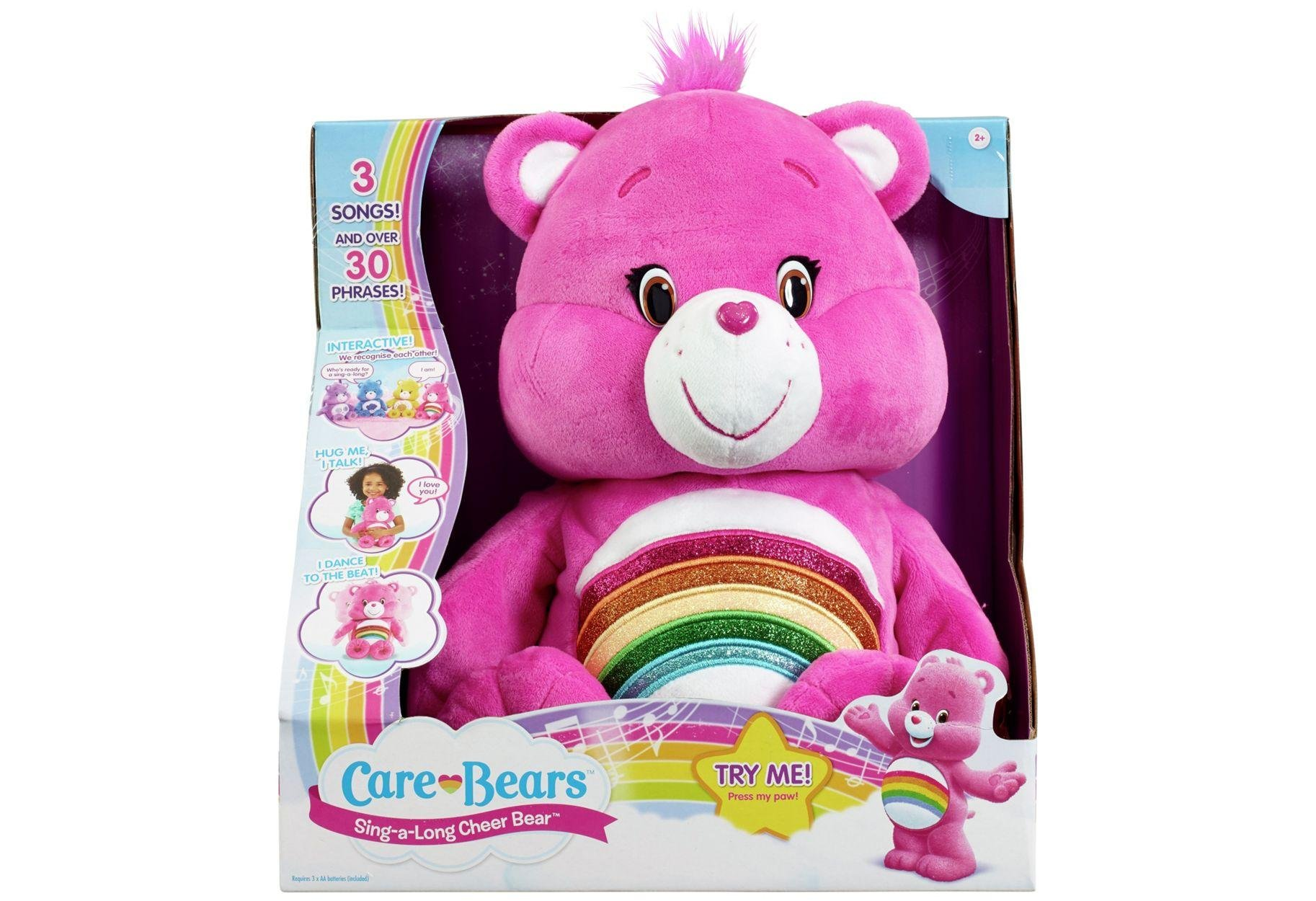 Image of Care Bears - Sing a Long Soft Toys - Assortment