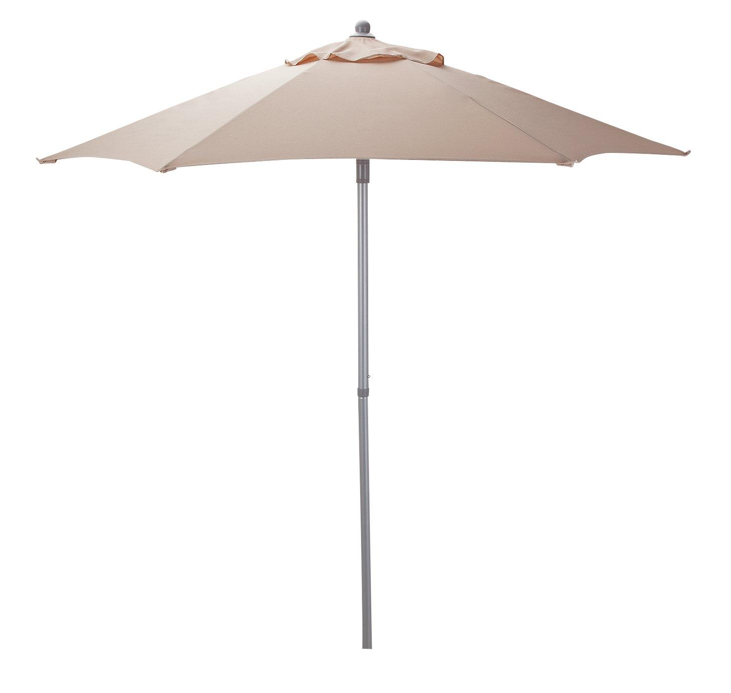 Argos Home 2m Garden Parasol - Cream