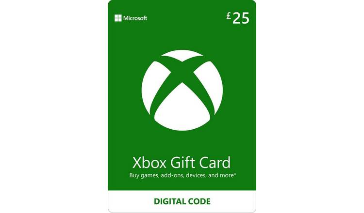 Xbox Live 25 GBP Gift Card Digital Download