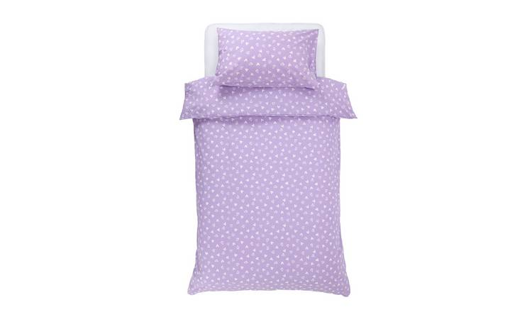 Argos Home Hearts Bedding Set - Single