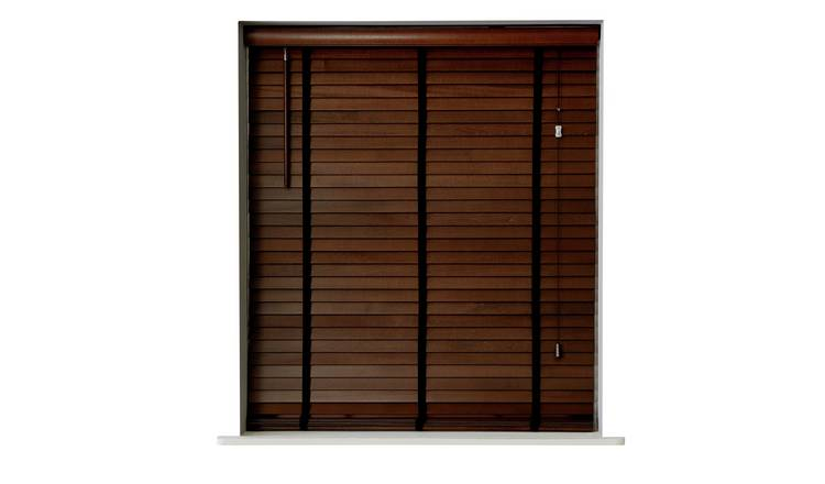 Argos Home Elliott 50mm Wooden Tape Venetian Blind - Salvage