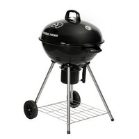 George Foreman 48cm Kettle Charcoal BBQ