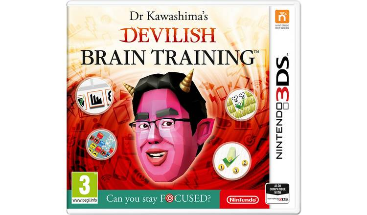 Devilish Brain Training Nintendo 3DS Game