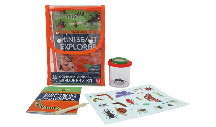 National Trust Minibeast Explorer Book & Activity Set