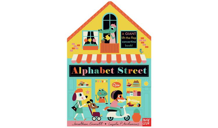 Alphabet Street Lift-The-Flap Book & Activity Set