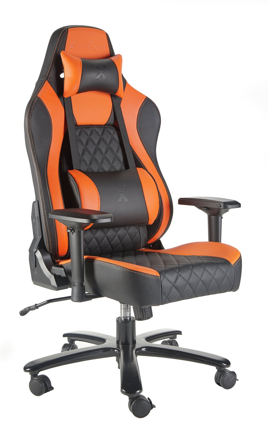 X Rocker Delta Pro Series IV Gaming Chair - Orange