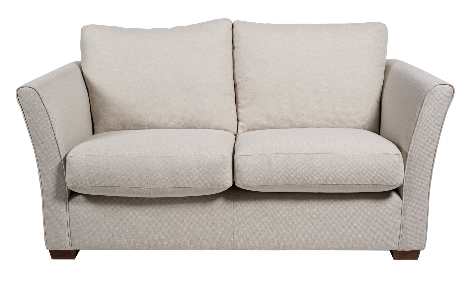Argos Home Dawson 2 Seater Fabric Sofa - Natural