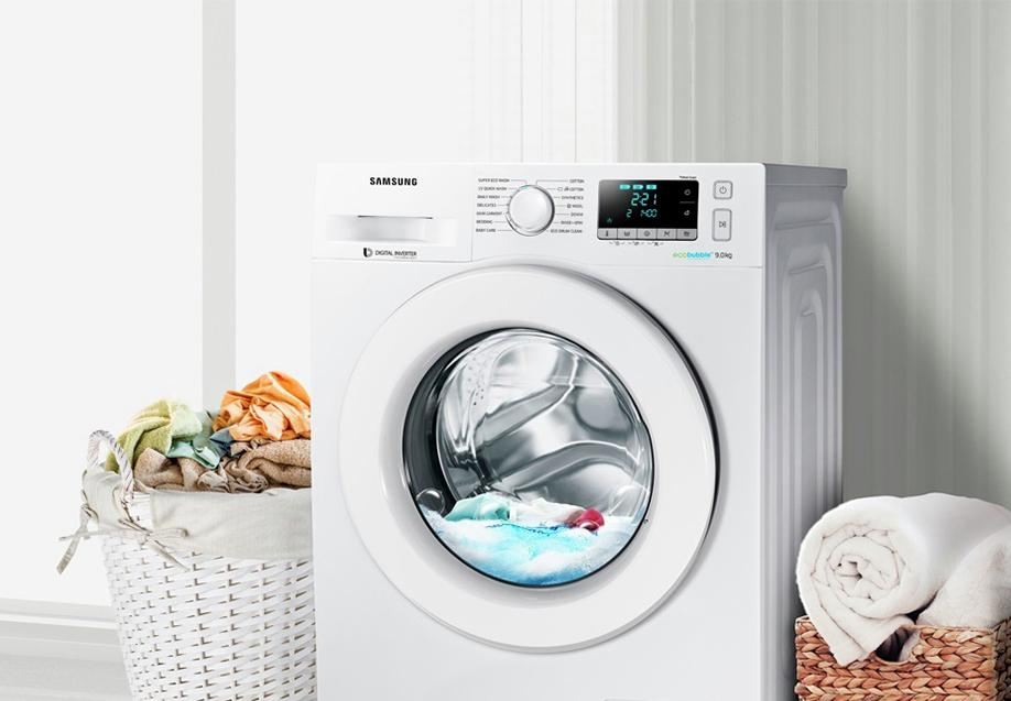 Samsung WW90J5456MW 9KG 1400 Spin Washing Machine - White.